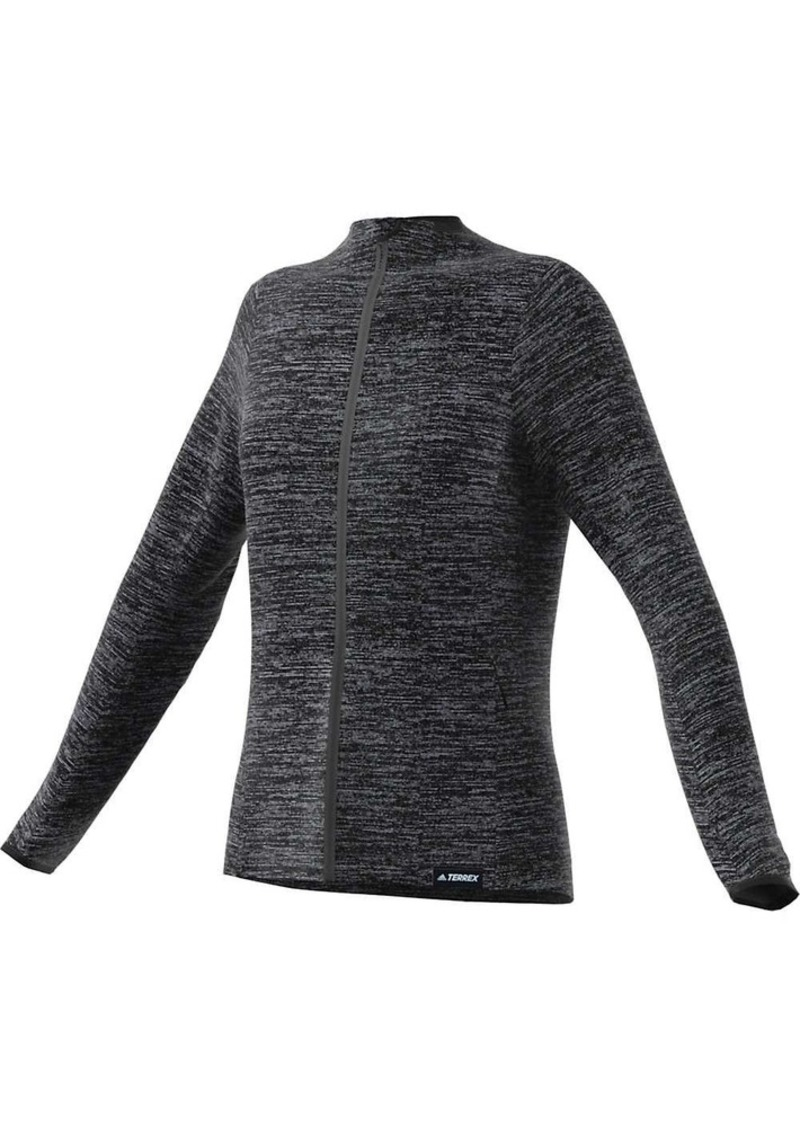 Adidas Women's Knit Fleece Jacket