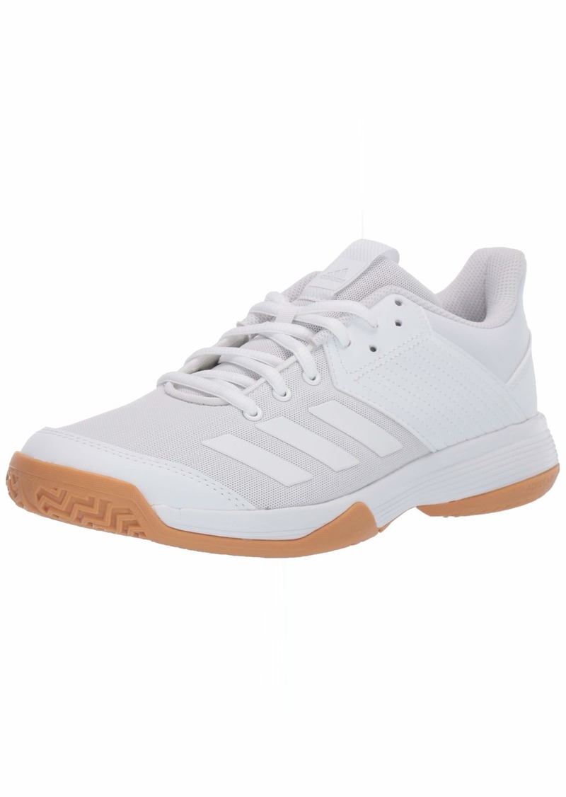 adidas Women's Ligra 6 Volleyball Shoe White/Gum  M US