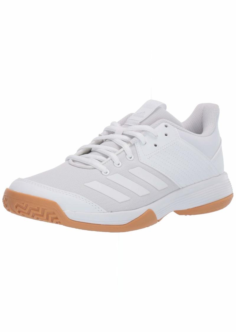 adidas Women's Ligra 6 Volleyball Shoe White/Gum  M US