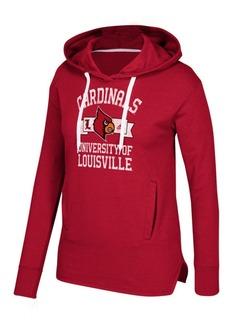 adidas Women's Louisville Cardinals Mascot Banner Arch Hoodie