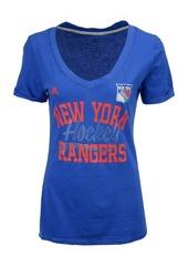 adidas Women's New York Rangers Hockey Shine T-Shirt