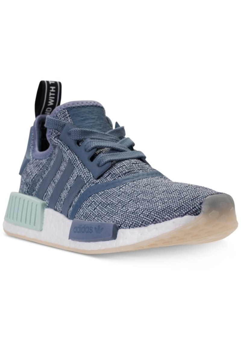 oben Adidas Wmns Nmd R2 Primeknit Womens Low Top Raw Pink
