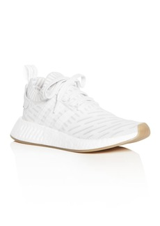 Adidas Women's NMD R2 Knit Lace Up Sneakers