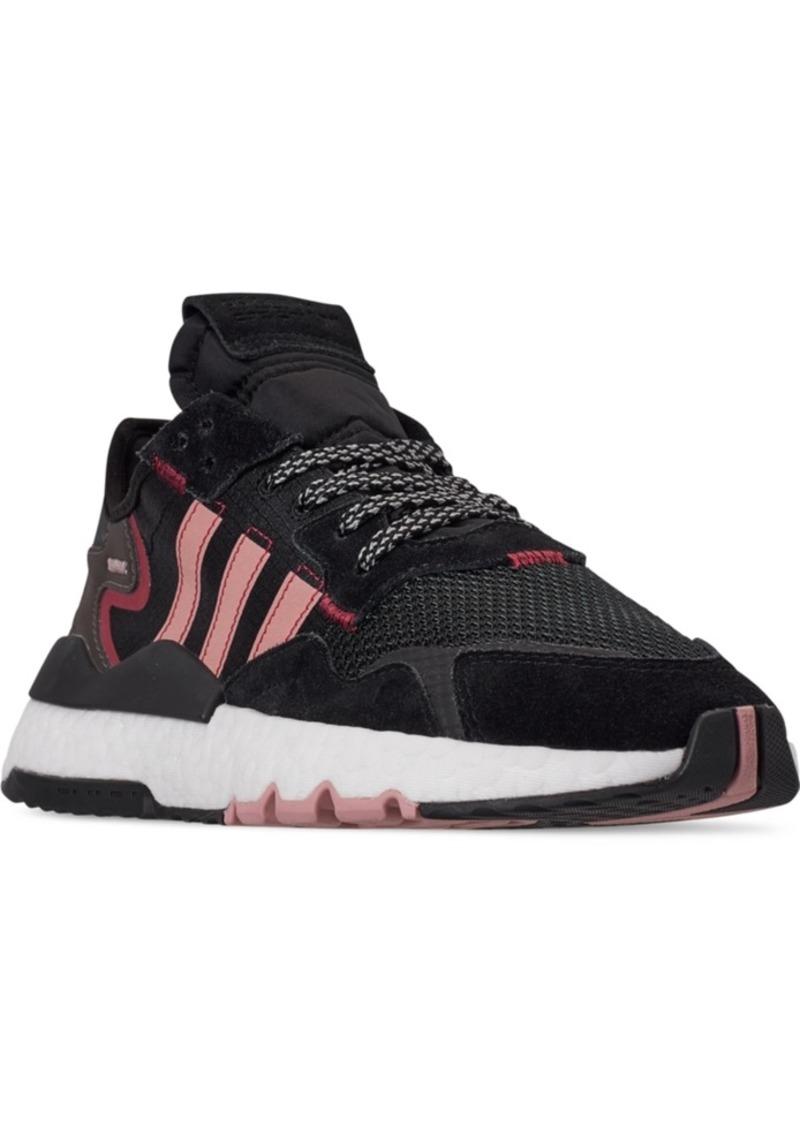 adidas Women's Originals Nite Jogger Running Sneakers from Finish Line