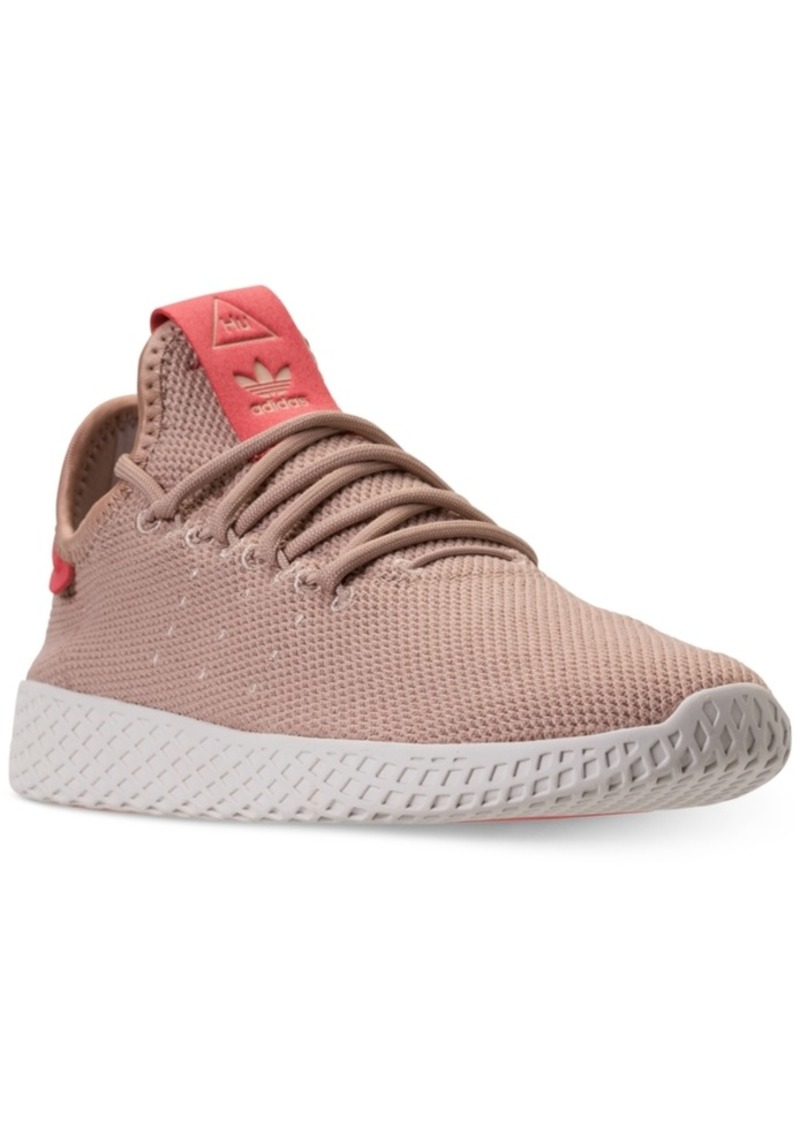01ca6b2b8 adidas Women s Originals Pharrell Williams Tennis Hu Casual Sneakers from Finish  Line