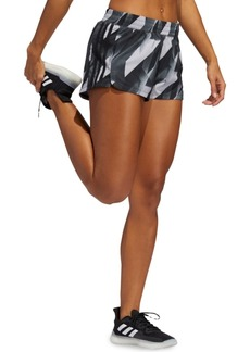 adidas Women's Pacer Here to Create Printed Shorts