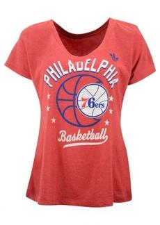 adidas Women's Philadelphia 76ers Basketball Scoop T-Shirt