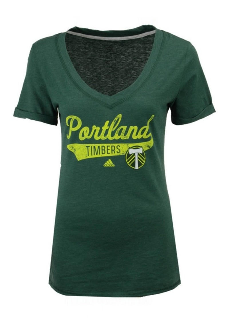 adidas Women's Portland Timbers Tail Stack T-Shirt
