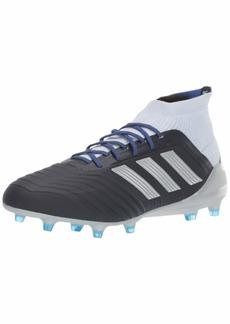 adidas Predator 18.1 FG W Athletic Shoe Legend Ink/Silver Metallic/aero Blue  Medium US (womens)