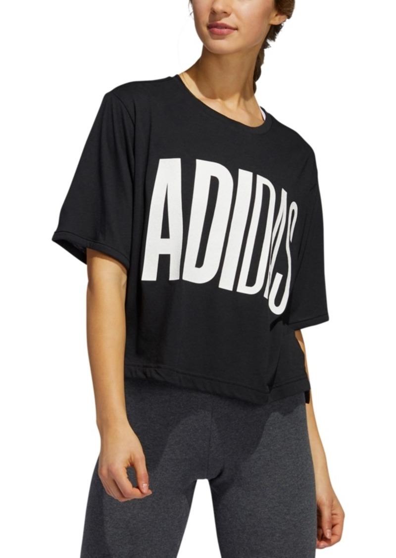 adidas Women's Puff Print T-Shirt