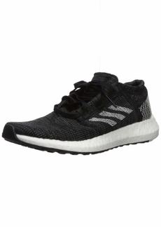 adidas Women's Pureboost Go Running Shoe Black Grey  M US