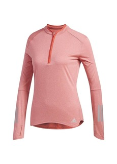 Adidas Women's Response LS Zip Tee