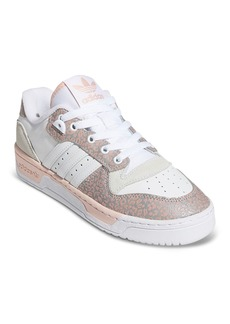 Adidas Women's Rivalry Low Top Lace Up Sneakers