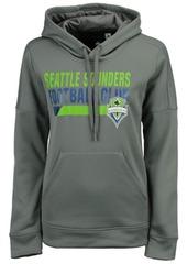 adidas Women's Seattle Sounders Fc Bottom Bar Slant Hoodie