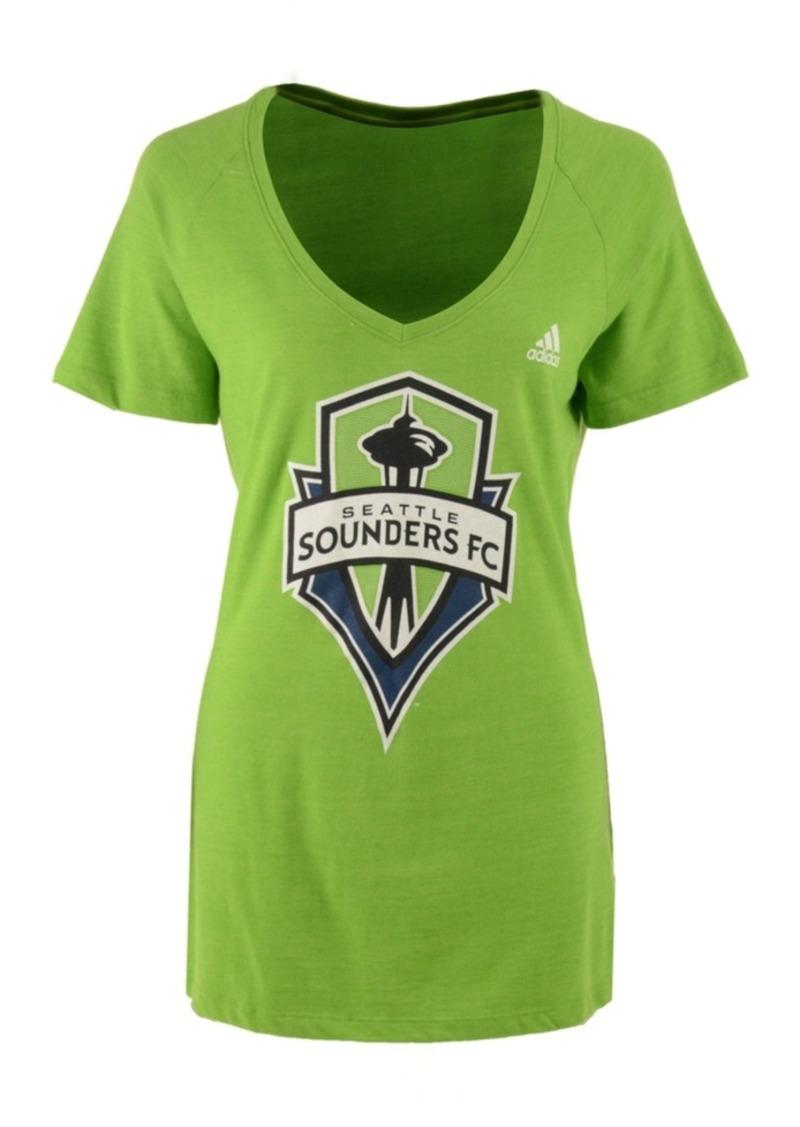 adidas Women's Seattle Sounders Fc Pearlized Pattern T-Shirt