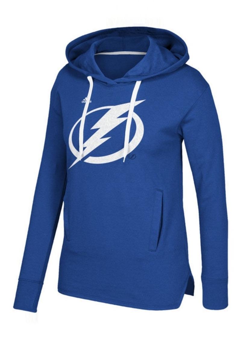 huge selection of a62ba 41768 Women's Tampa Bay Lightning Logo Shine Hooded Sweatshirt