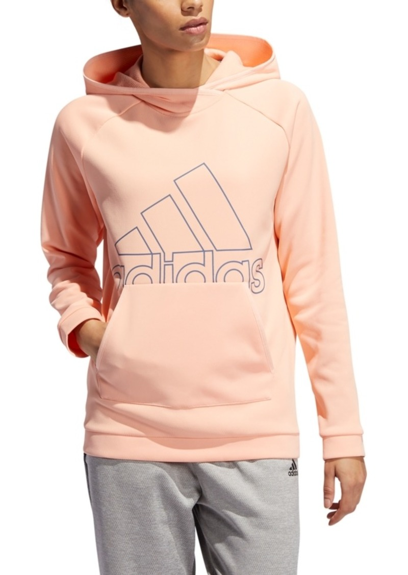 adidas Women's Team Issue Logo Hoodie