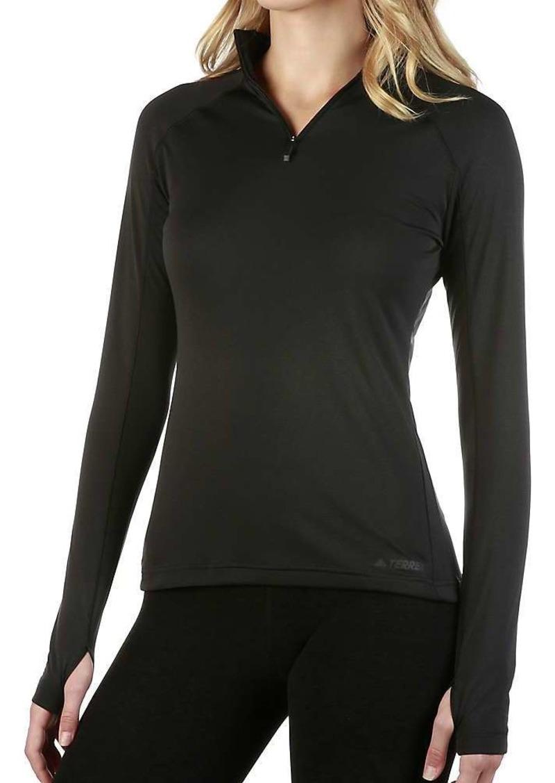 Adidas Women's Tracerocker 1/2 Zip Top