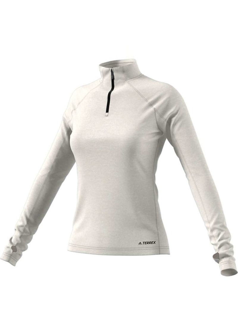 Adidas Women's Tracerocker 1/2 Zip Top