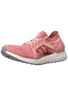 adidas Women's Ultraboost X Running Shoe Trace Pink/Tactile RED  Medium US