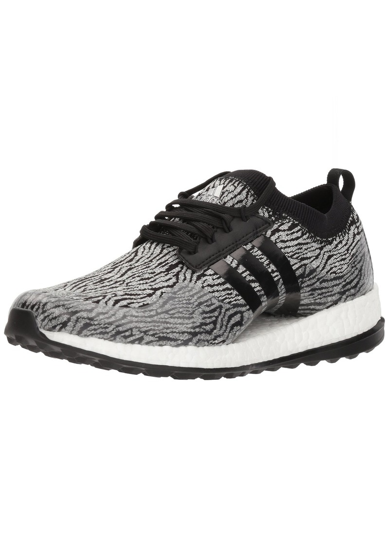 adidas Women's W Pure Boost xG Golf Shoe White/core Black  Medium US