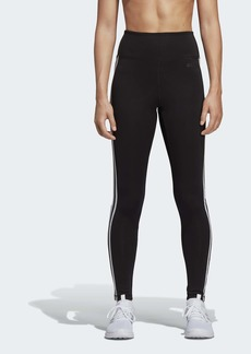 adidas Women's Women D2m 3-stripes High-rise Long Tight  2Xsa