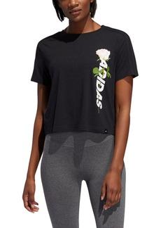 adidas Work In Progress Essentials Floral T-Shirt