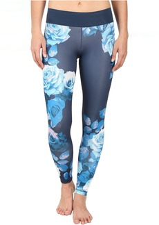 adidas Workout Mid-Rise Long Tights - Around The World Prints