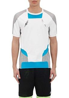 adidas x kolor Men's Tech-Lamé-Inset Colorblocked T-Shirt