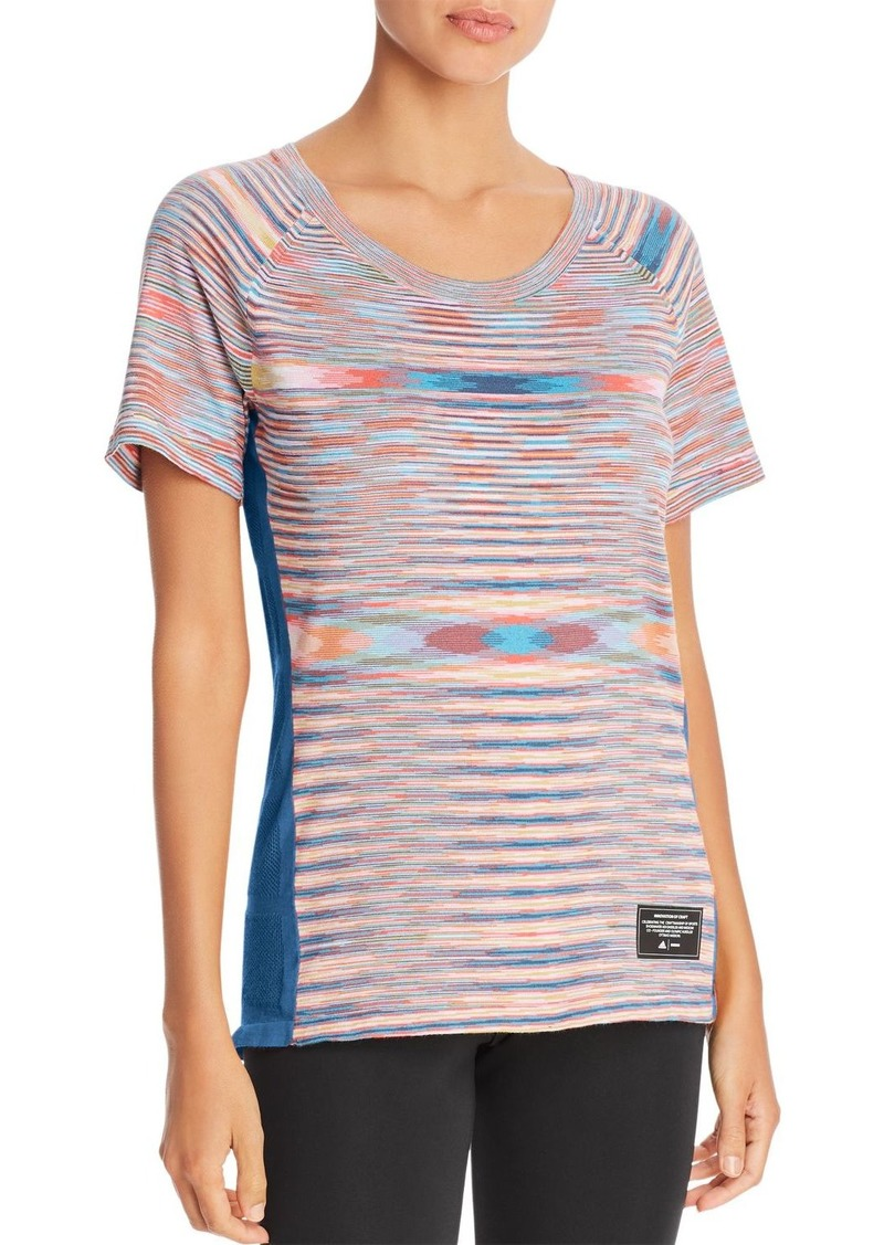 adidas x Missoni Space-Dye Paneled Top