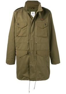 ADIDAS X NEIGHBORHOOD patch pockets military coat