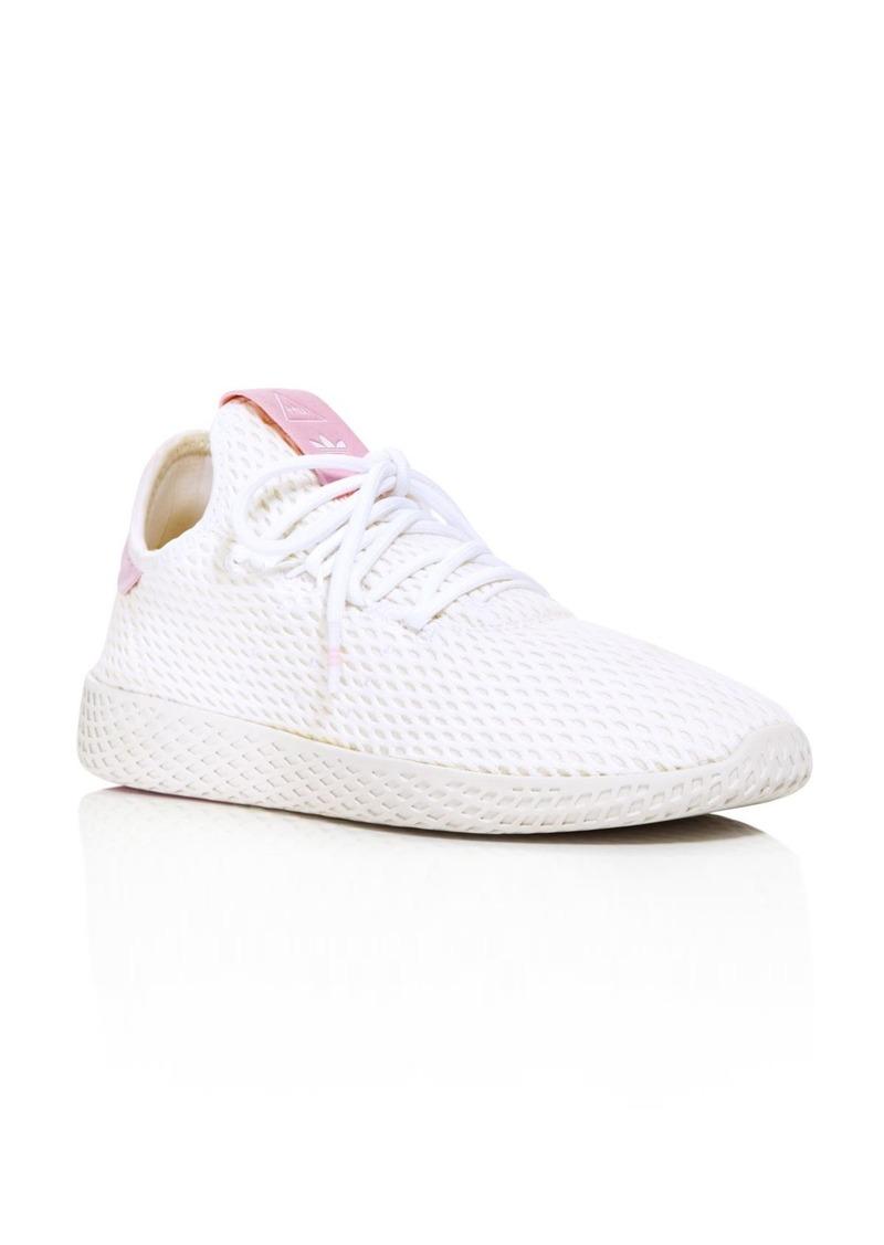 x Pharrell Williams Women's Tennis Hu Lace Up Sneakers