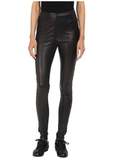 adidas Y-3 by Yohji Yamamoto Stretch Leather Leggings