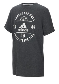 Adidas Youth Badge of Sport Roundneck Tee