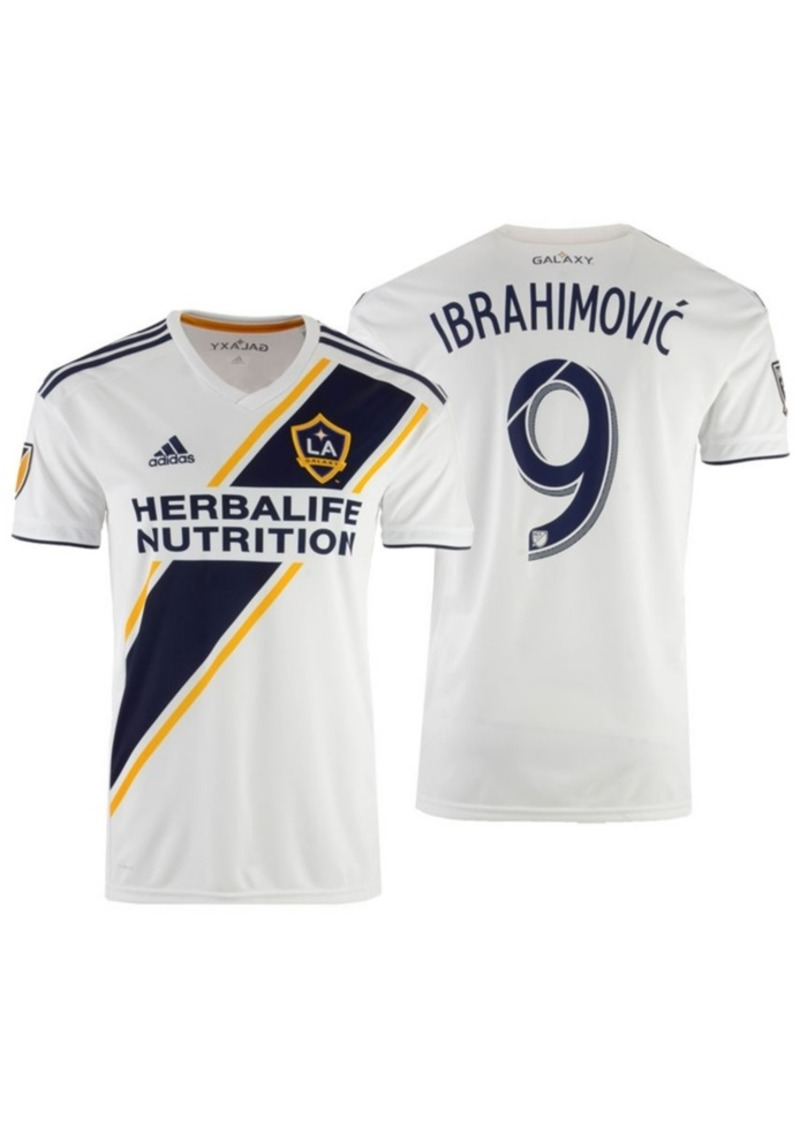 adidas Zlatan Ibrahimovic La Galaxy Primary Replica Jersey, Big Boys (8-20)