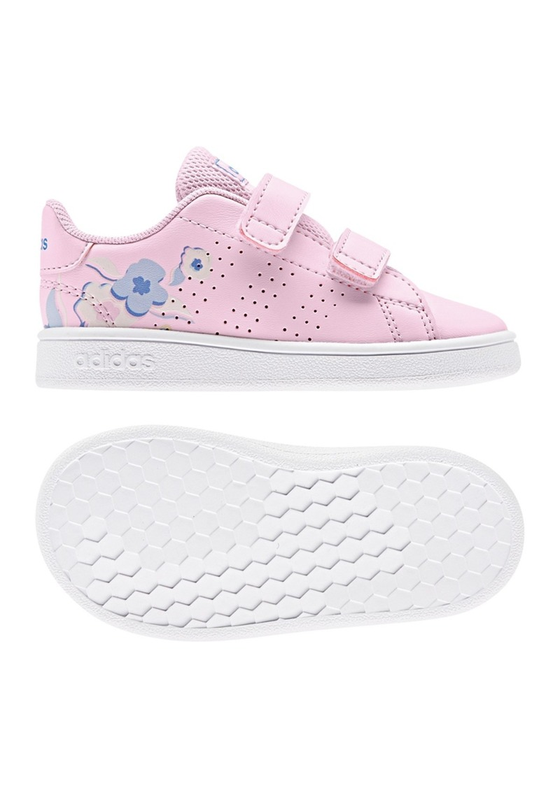 Adidas Advantage Floral Sneaker (Baby & Toddler)