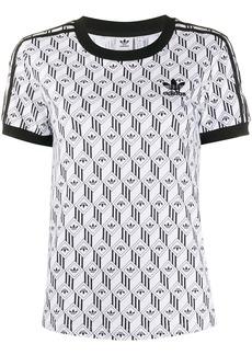 Adidas all-over logo T-shirt