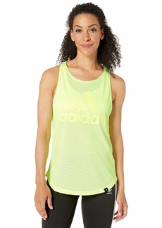 Adidas All Over Mesh Essential Tank Top