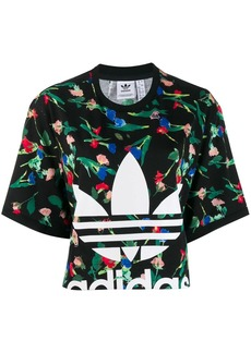 Adidas Allover logo print T-Shirt