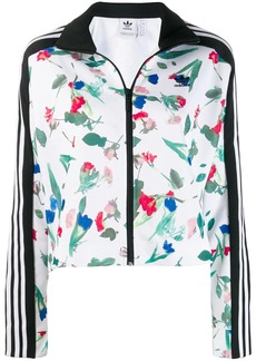 Adidas Allover print track jacket