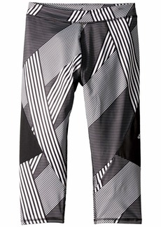 Adidas Alpha Blocked Capris Tights (Big Kids)