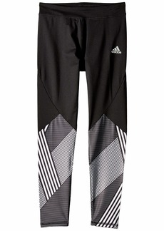 Adidas Alpha Pieced Full-Length Tights (Big Kids)
