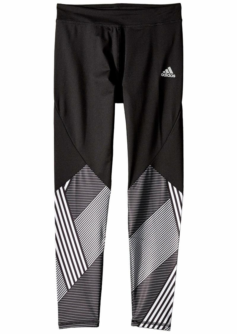 Adidas Alpha Pieced Full-Length Tights (Big Kids)
