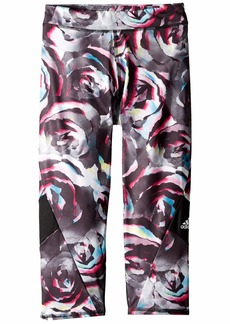 Adidas Alpha Printed Capris Tights (Big Kids)