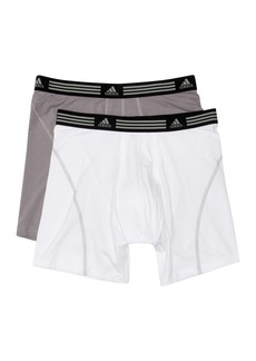 Adidas Athletic Stretch Boxer Brief - Pack of 2