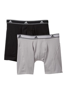 Adidas Athletic Stretch Relaxed Boxer Brief - Pack of 2