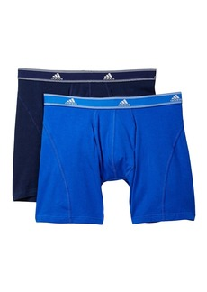 Adidas Athletic Stretch Relaxed Boxer Briefs - Pack of 2