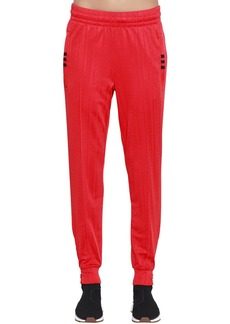 Adidas Aw Logo Jacquard Track Pants