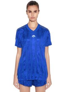Adidas Aw Oversized Wrinkled Jacquard T-shirt