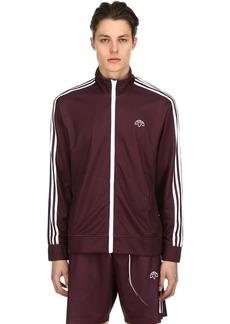Adidas Aw Printed Zip-up Track Jacket